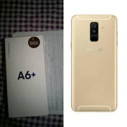 """Samsung a6+ plus 64gb """"aceito cartão"""""""