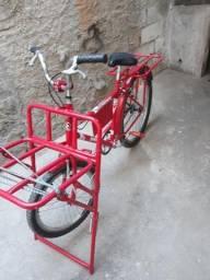 Bike cargueira Nova nem um aranha