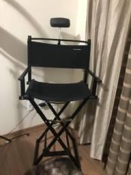 Cadeira estilo diretor para maquiador