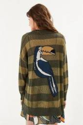 Casaco tricot tucano
