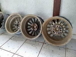 4 rodas de liga leve