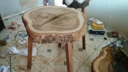 Mesa rustica madeira de lei
