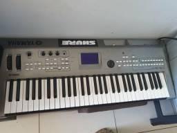 Usado, Teclado MM6 Yamaha comprar usado  Maceió