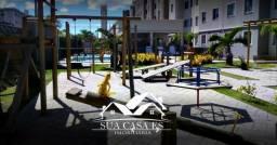 Apartamento à venda com 2 dormitórios em Colina de laranjeiras, Serra cod:AP192GL