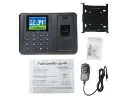 Relógio Ponto Biométrico Digital (inglês) Bivolt R$ 179,00 ou (3 x R$66,00) no cartão