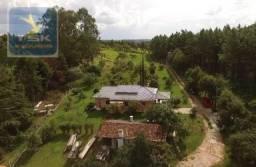 CH0223 - Chácara com 2 dormitórios à venda, 10935 m² por R$ 337.000 - Zona Rural - Agudos