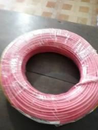2 peças de fio de 6mm por apenas 200,00 cada, 1 vermelha e 1 branca