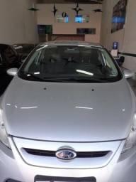 Fiesta Hatch 1.6 SE prata completo, com primeira parcela ipva 2020 - 2012