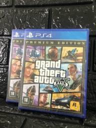 Jogo GTA 5 Premium Edition p/ PS4 ( LACRADO )