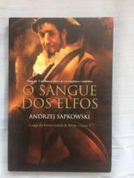 Livro The Witcher III(Sangue dos Elfos) - Andrzej Sapkowski
