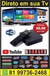 Configuramos em sua tv smart - para Fortaleza