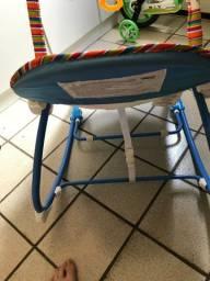 Cadeira de Descanso Musical Funtine Maxi Baby até 18kg azul