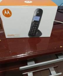 Telefone Digital sem fio, na caixa