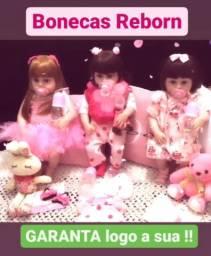 Boneca Reborn - TODA DE SILICONE