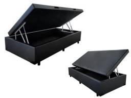 Cama Box Baú Solteiro 88x188 Compre direto da fábrica Master Box (21)99877.6821