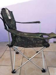 Promoção de Cadeiras Retrátil Jogá Camufladas - Novas