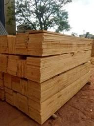 Tabua de Pinus 30cm Aplainada 2 lados