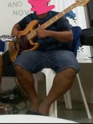 contrabaixo 4 cordas sjb75 jazz bass sx - natural comprar usado  São Paulo