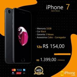 IPhone 7 | Black | Somos Loja Física | Aceitamos Troocas
