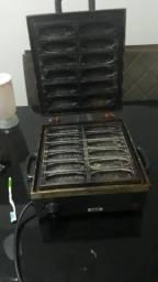 Máquina de crepe 12 unidade 550$