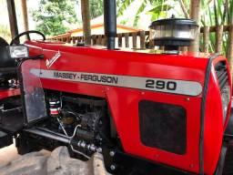 Trator Massey Ferguson 290 tração 4 X 4 - R$ 97.000,00 IMPECÁVEL!!!