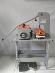 Máquina  de fazer chinelo completa