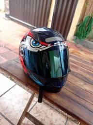 Vendo capacete ls2 semi novo