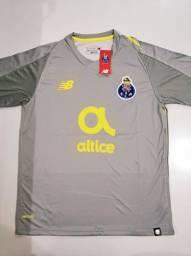 Camisa Porto Reserva New Balance 18/19 - Tamanho: G