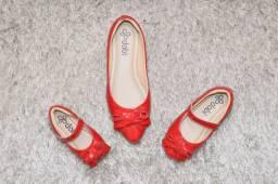 Sapatos infantis e femininos