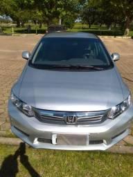 Honda Civic Prata 2013