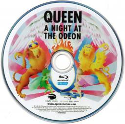 Blu ray Queen - A Night At The Odeon