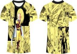 Camisa Saitama - 6 modelos