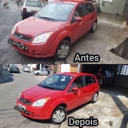 Serviços de limpeza automotiva