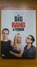 DVD Big Bang a Teoria primeira temporada completa