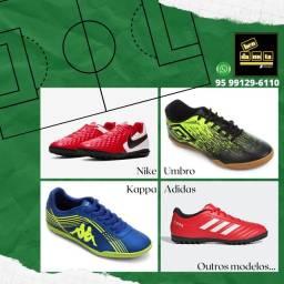 Chuteiras Nike Adidas Puma Umbro Kappa