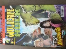 Wolverine e hulk Marvel apresenta n01