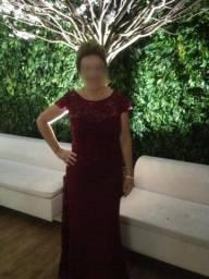 Vestido Vinho para Festas, Formaturas e Casamentos
