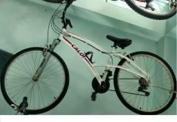 Bike aluminio Caloi aro 26