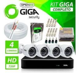 Kit Giga Security Cftv Com 4 Câmeras