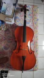 Violoncelo Dominante 9633 4/4 + arco + bag