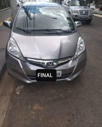 Honda Fit LX 12/13 Cor Cinza - Final 9 Pago