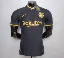 Camisa Barcelona Preta