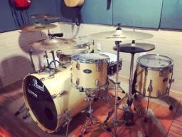 Bateria Pearl Vision - somente tambores