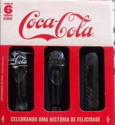 Garrafas comemorativas Coca Cola
