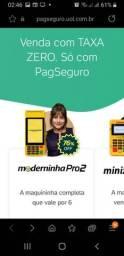 Maquininha Pague Seguro