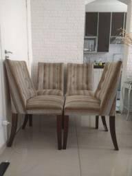 Jogo 4 cadeiras Madeira