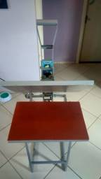 Prensa térmica 40x60 maquinatec + manta siliconada (pouco uso)