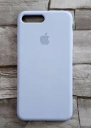 Case/Capinha Silicone Iphone 7 Plus e 8 Plus