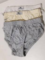 Kit de cuecas masculinas tamanho p