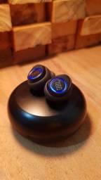 Fone de ouvido In-ear sem fio JBL Free X preto